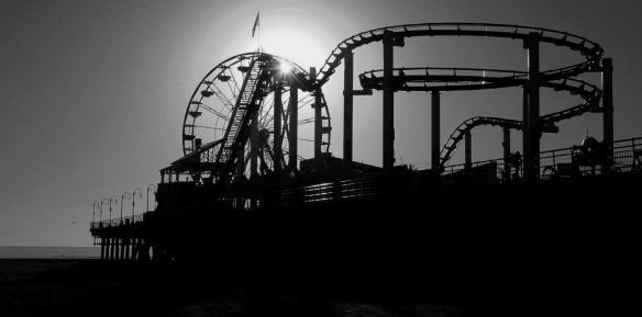 B&W Rollercoaster